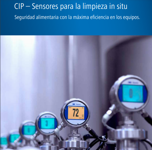 "SENSORES INDUSTRIALES ""CLEAN IN PLACE"""