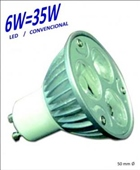 HALOGENO LED 6W